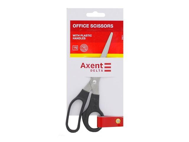 Ножницы 18 см Axent пластиковые ручки черные D6211