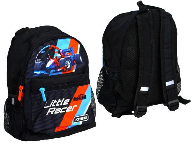 Рюкзак детский Kite Little Racer 30*22*10см черный K19-534XXS-1