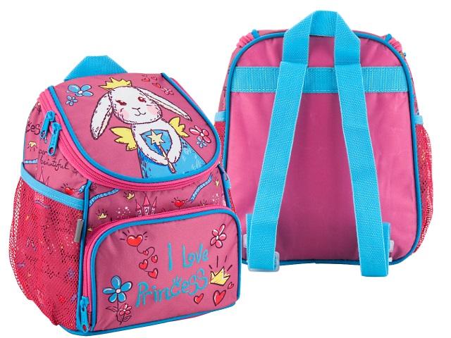 Рюкзак детский Kite I love Princess 24*19*13см розовый K18-535 XXS-2