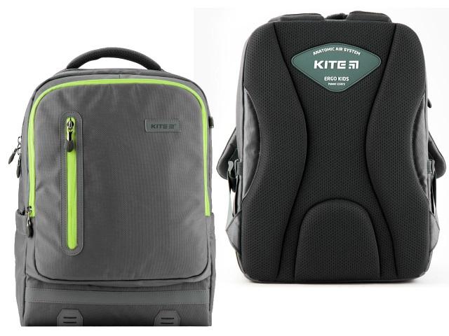Рюкзак Kite Trendy 39*28*13см серый K19-746M