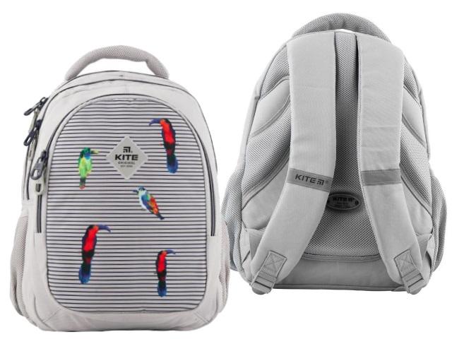 Рюкзак Kite Education 40*29*17см светло-серый K19-8001M-5