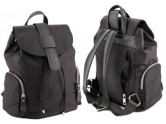 Рюкзак кожзам 26.5*32*14см черный Beauty Kite K18-882M