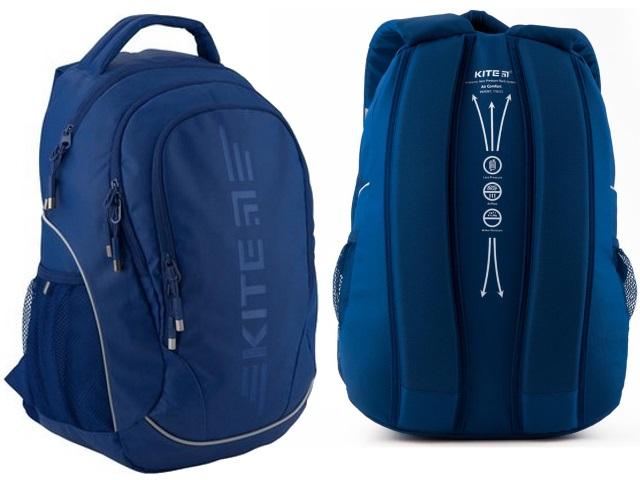 Рюкзак Kite Sport 45*32*14см синий K19-816L-2