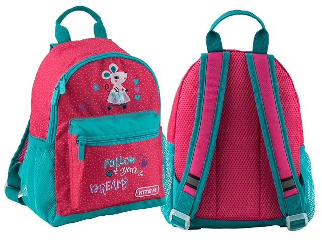 Рюкзак детский Kite Kids 30*22*10см розовый Kite K19-534XS-2