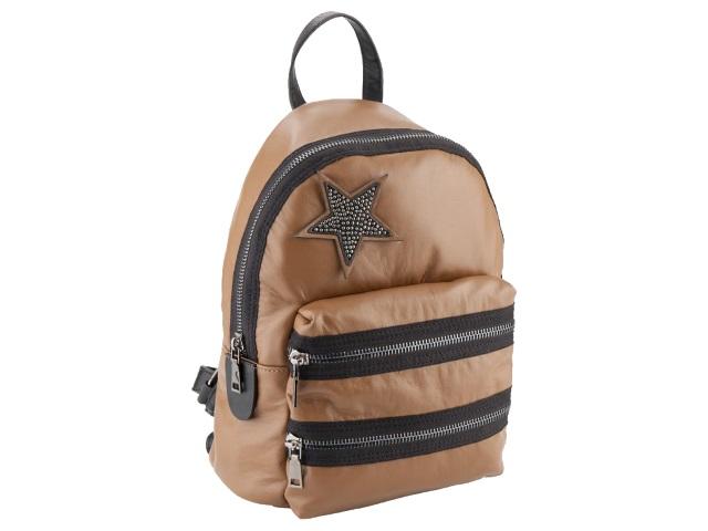 Рюкзак кожзам Kite 34*25*10см коричневый K18-2545-1