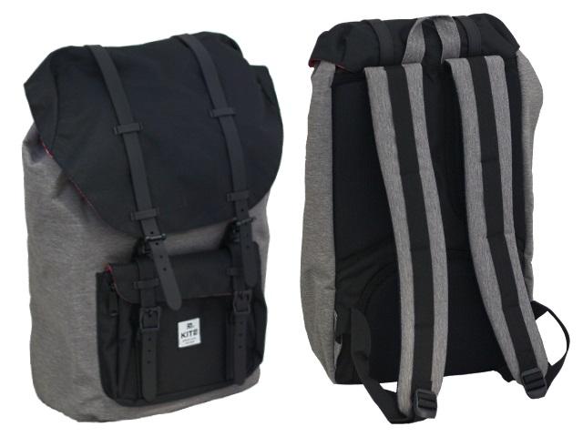 Рюкзак Kite Urban 28.5*48*17см серый K18-860L-1