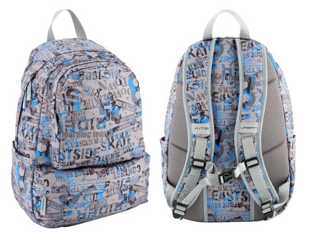 Рюкзак Kite Urban 32*46*15см серый K18-995L
