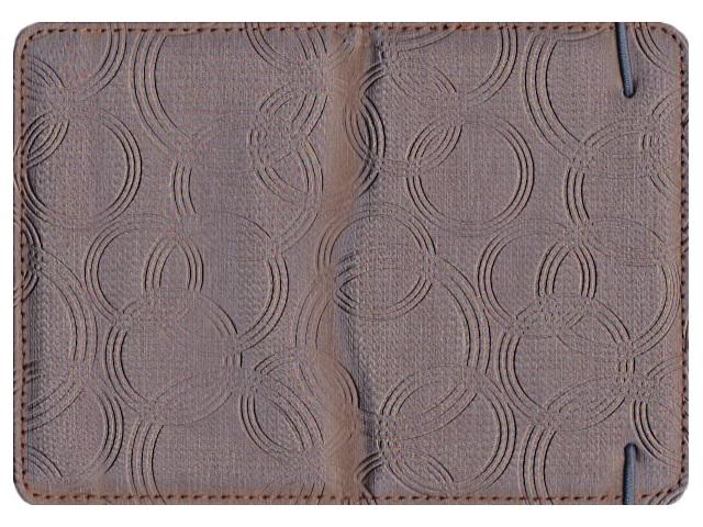 Обложка для паспорта кожзам на резинке Глори J.Otten 6201