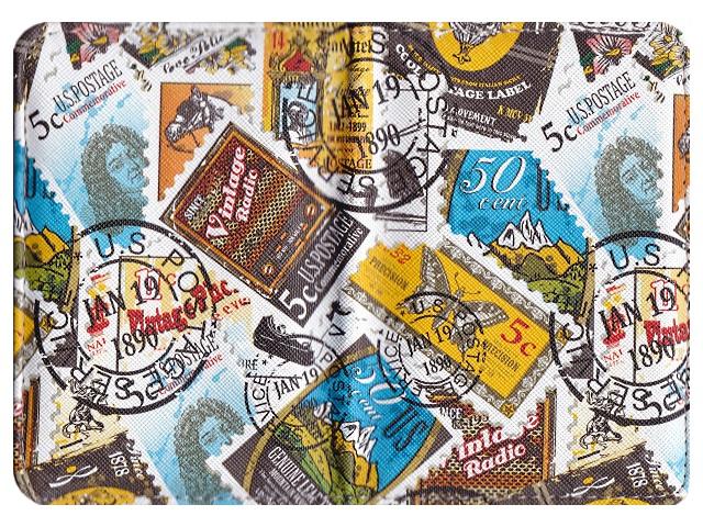 Обложка для паспорта кожзам J.Otten Тревел 9377