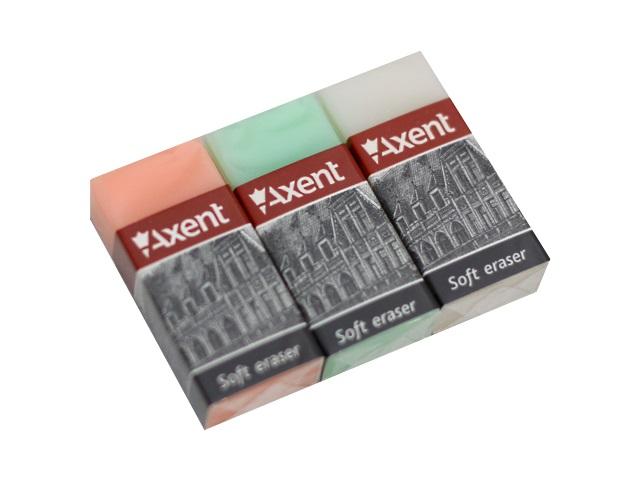 Ластик Axent Pure прямоугольный 40*18*10мм 1192-A