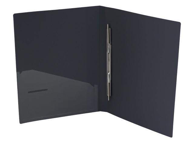 Папка-скоросшиватель с карманом А4 Axent 0.5мм серая 1304-03-A