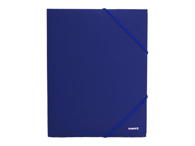 Папка на резинке А4 Axent синяя 1508-02-A