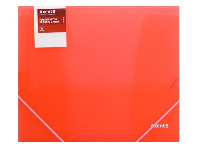 Папка на резинке В5 Axent красная 1505-24-A