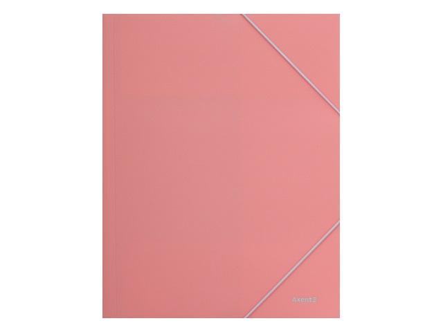 Папка на резинке А4 Axent Pastelini розовая 1504-10-A