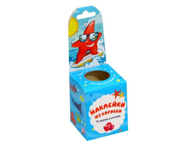 Наклейки из коробки По морям и океанам Vladi Toys HG02-01