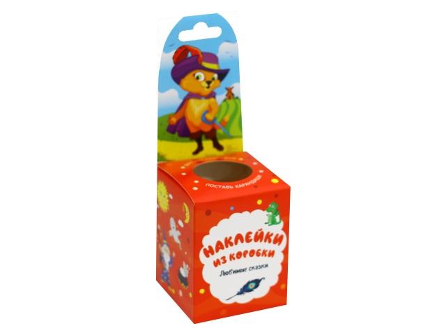 Наклейки из коробки Vladi Toys Любимые сказки HG02-05