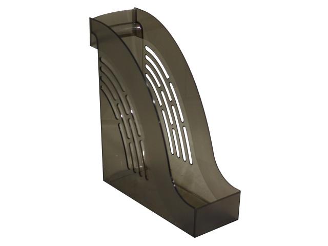 Лоток вертикальный 10см Mazari Тор прозрачный дымчатый M-16018