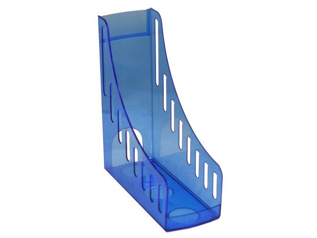Лоток вертикальный 10см Mazari Style прозрачный синий M-16028