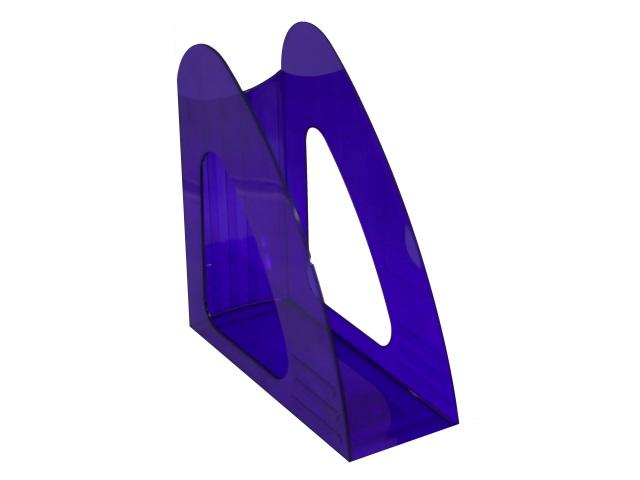 Лоток вертикальный  9см Mazari Light синий тонированный M-16038