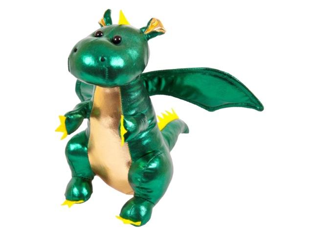 Мягкая игрушка Металлик Дракон 20см ABToys М2114
