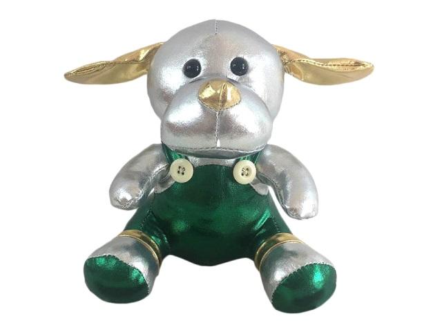Мягкая игрушка Металлик Собака 16см ABToys М2112