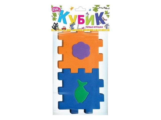 Кубик-сортер EVA Первые игрушки EF27084