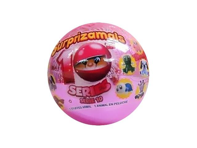 Мягкая игрушка Squeezamals 6см Сюрприз в шаре ассорти SU20445