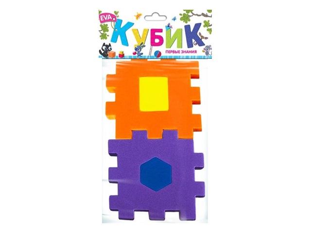 Кубик-сортер EVA Первые знания EF27085