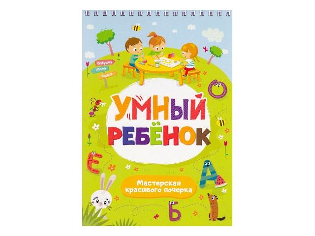 Дидактический блокнот Умный ребенок Мастерская красивого почерка Malamalama 41208