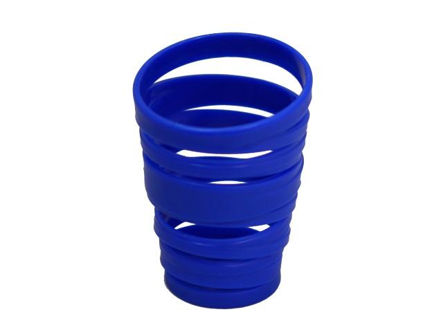 Стакан для ручек пластик Mazari Abris цветной круглый M-9307