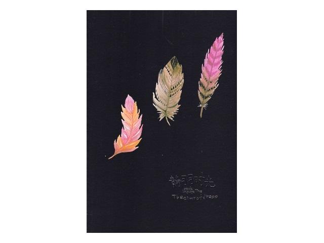 Скетчбук 17*25см 20л на скобах 120 г/м2 черный блок Feather Mazari M-3833