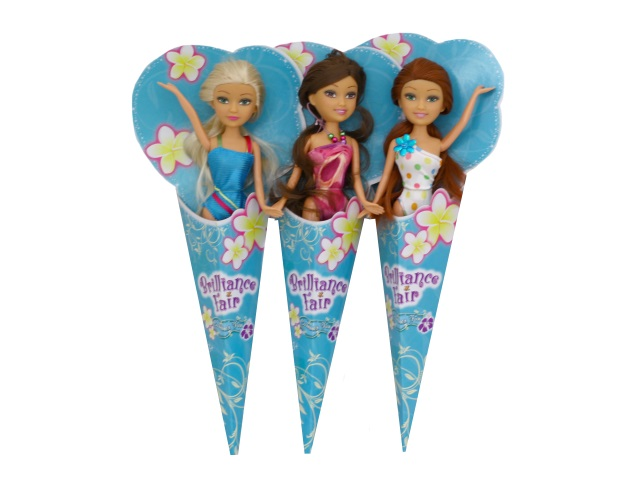 Кукла Brilliance Fair в купальнике 27см в рожке ABToys 250092
