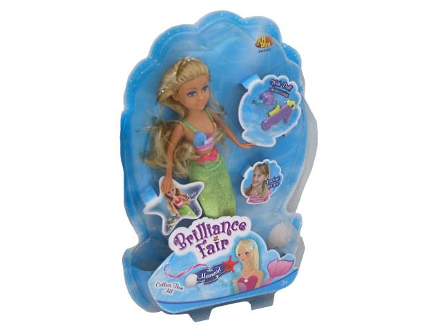 Кукла Brilliance Fair Русалочка 27см ABToys 2400062
