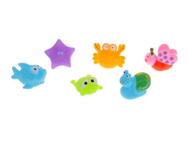 Игрушки для купания  6 шт. Веселое купание ABToys PT-00350