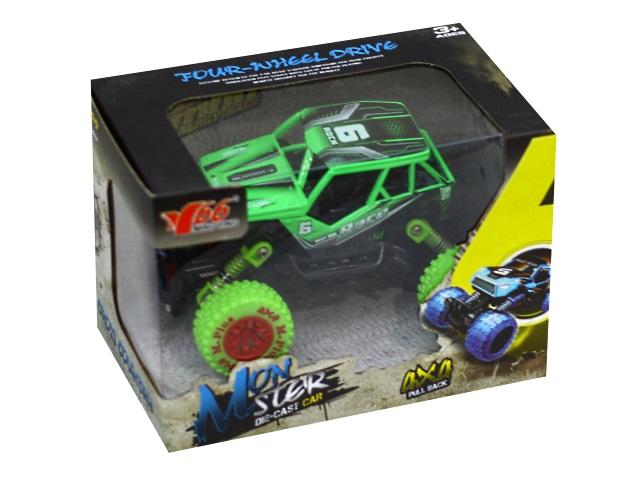 Машина на батарейках Джип Monster 14см со звуком и светом JunFа МY66-Y1202
