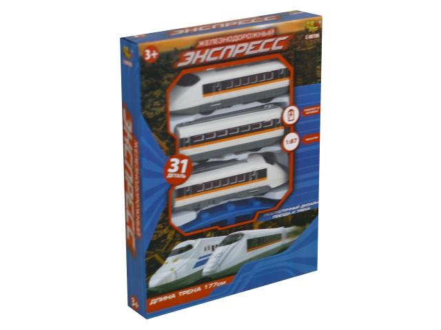 Железная дорога на батарейках Экспресс 177см ABToys C-00198