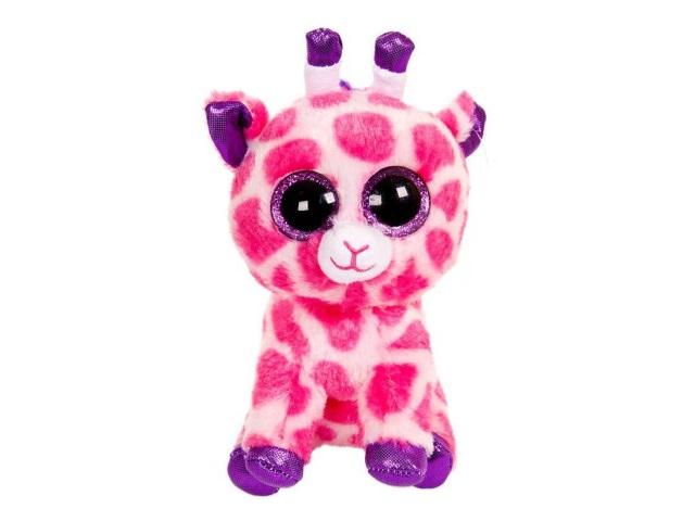 Мягкая игрушка Жираф розовый 15см ABToys M0029