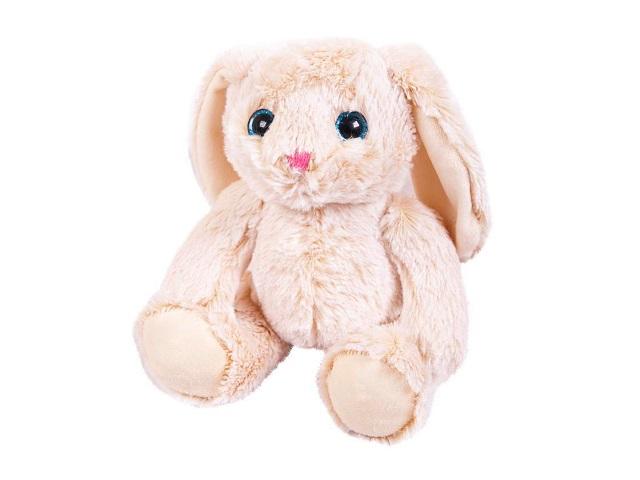 Мягкая игрушка Кролик бежевый 18см ABToys M2060