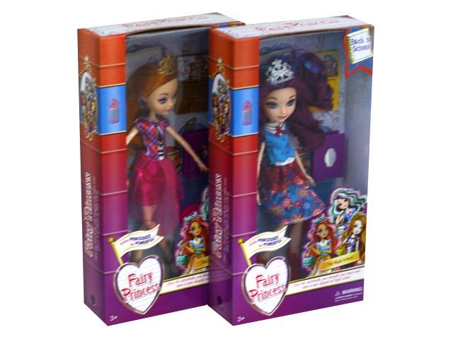 Кукла шарнирная Сказочная принцесса 25 см Обратно в школу DH2203A