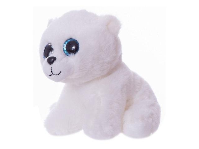 Мягкая игрушка Медвежонок белый 24см ABToys M0067
