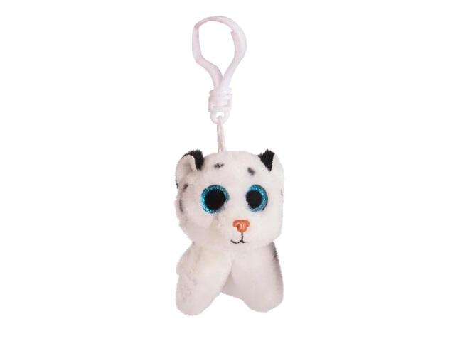 Брелок мягкая игрушка Тигренок белый 9см ABToys M0062
