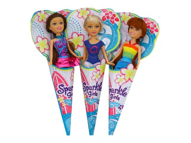 Кукла Sparkle Girlz в рожке 25см ассорти Funville 24009