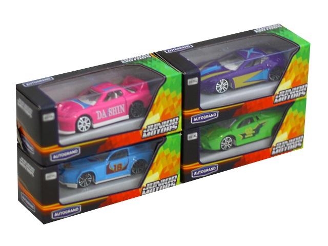 Машина металл Autogrand Junior Motors 7см ассорти 34119