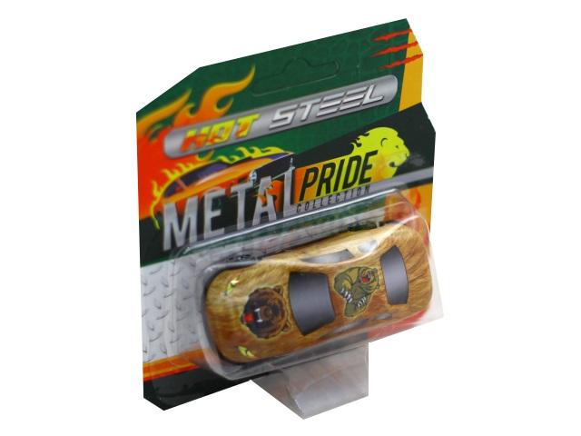 Машина металл Wild Animals 7.5см ассорти 68359