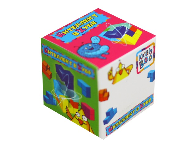 Головоломка Интеллект в кубе Kribly Boo 58289