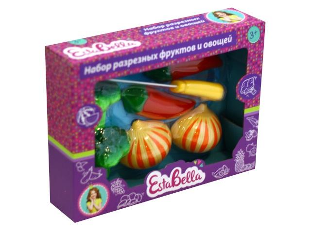 Фрукты и овощи разрезные EstaBella 69450