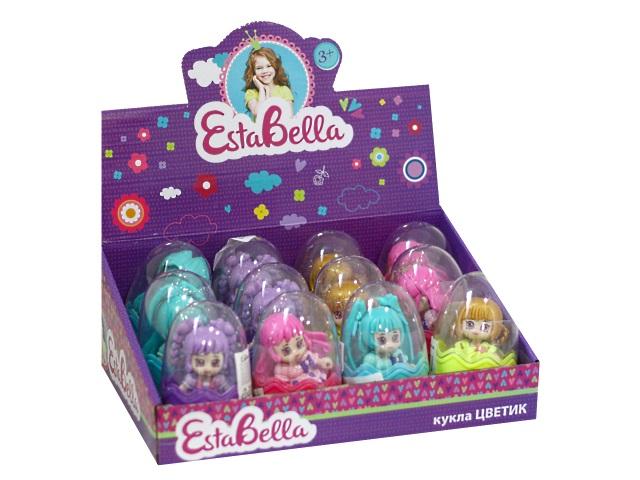 Кукла Цветик 7см в яйце ассорти EstaBella 71046