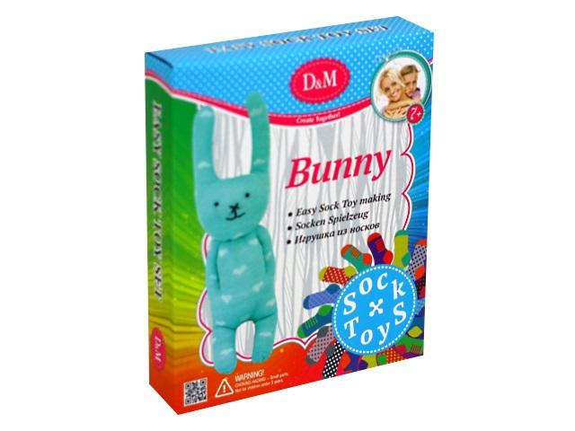 Шьем игрушку из носков Кролик DM 68579