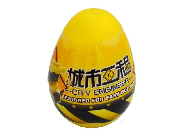 Конструктор   31 деталь Строительная техника Builders Quad в яйце 67447
