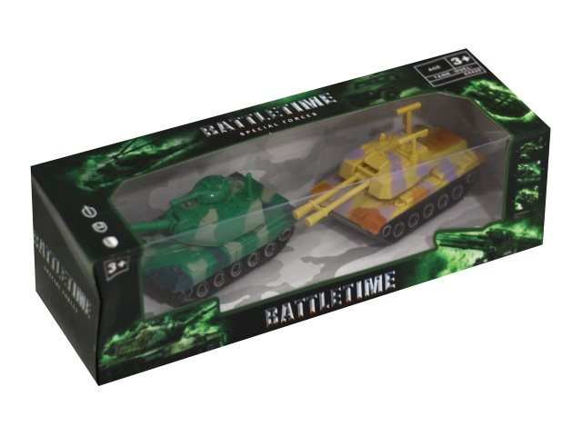 Танки 2 шт. Дуэль Battletime 64429